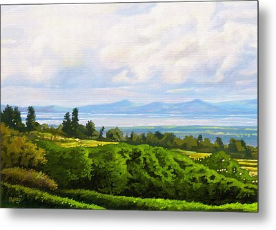 Lake Naivasha From Home Metal Print by Anthony Mwangi