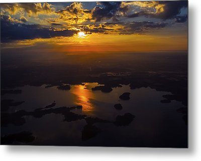 Lake Norman Sunrise Metal Print