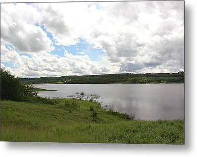 Metal Print featuring the photograph Lake Of The Prairies by Ryan Crouse