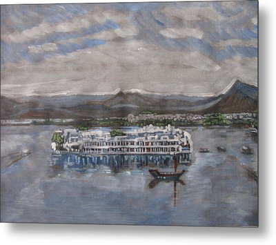 Lake Palace Metal Print by Vikram Singh