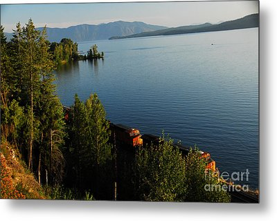 Metal Print featuring the photograph Lake Pend Orielle by Sam Rosen