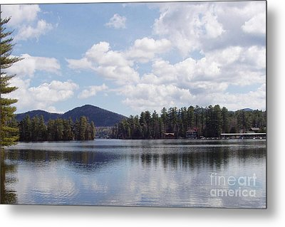 Lake Placid Metal Print by John Telfer