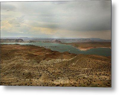 Lake Powell  Metal Print by Joseph G Holland