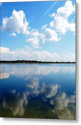 Metal Print featuring the photograph Lake Sears 000 by Chris Mercer