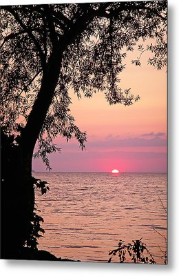 Lake Sunset Metal Print by Aimee L Maher Photography and Art Visit ALMGallerydotcom