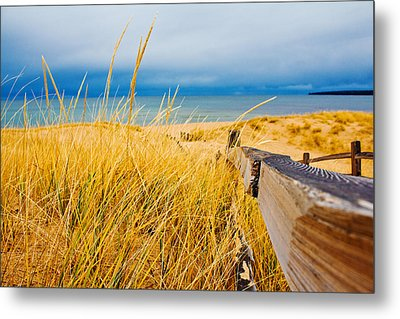 Lake Superior Beach Metal Print