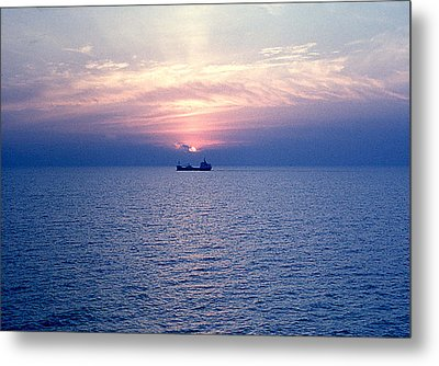 Lake Superior Evening Metal Print by George Cousins