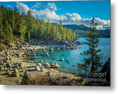 Lake Tahoe Hidden Cove Metal Print by Janis Knight