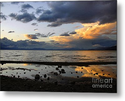 Lake Tahoe In May Metal Print