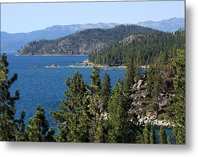 Lake Tahoe Nevada Metal Print by Aidan Moran