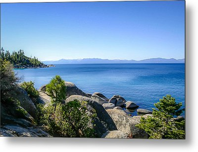 Lake Tahoe Shore Metal Print