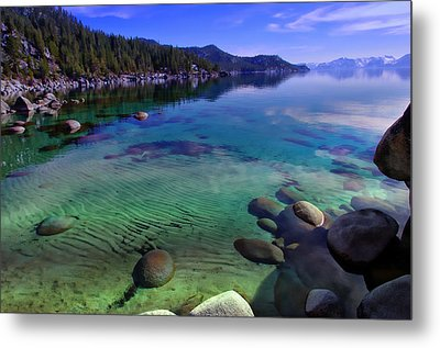 Lake Tahoe Waterscape Metal Print
