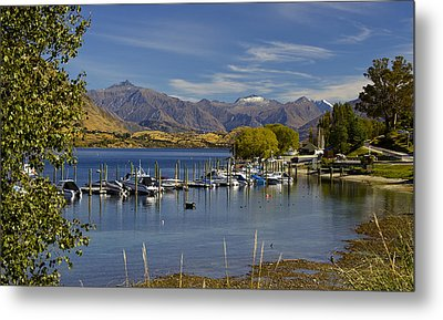 Beautiful Lake Wanaka New Zealand Metal Print by Venetia Featherstone-Witty