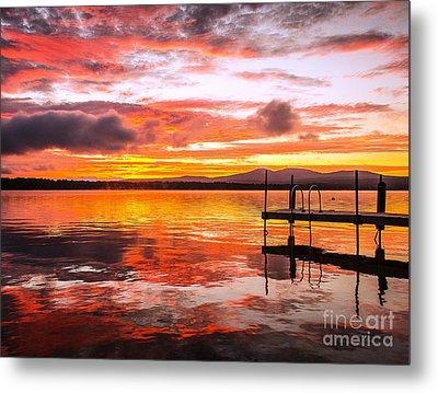 Lake Winnisquam Sunrise Metal Print