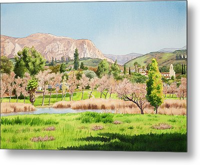 Lakeside California Metal Print