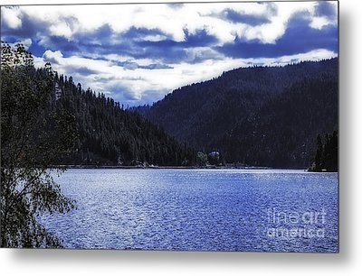 Lakeside Living Metal Print by Nancy Marie Ricketts