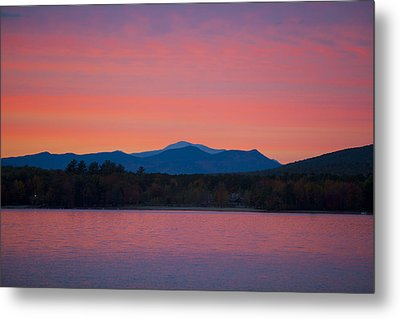 Metal Print featuring the photograph Lakeside Sunset by Larry Landolfi