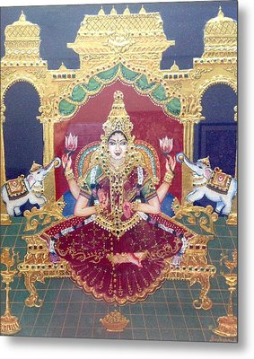Lakshmi Metal Print by Jayashree