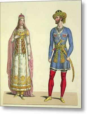Lalla Roukh Metal Print by British Library