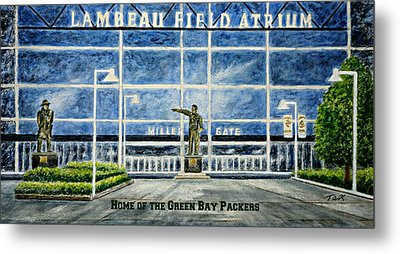 Lambeau Metal Print by Thomas Kuchenbecker