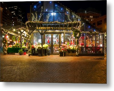 Lambert's At Faneuil Hall Metal Print