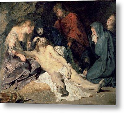 Lament Of Christ Metal Print by Peter Paul Rubens