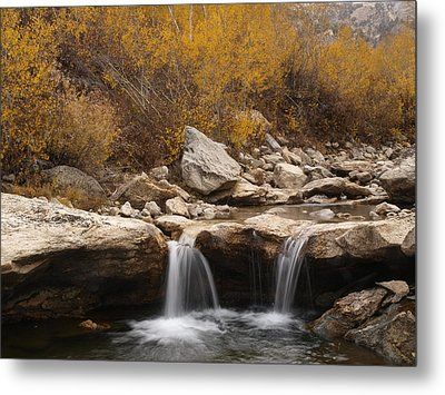 Metal Print featuring the photograph Lamoille Creek by Jenessa Rahn