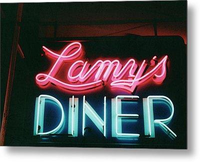 Lamys Diner Metal Print