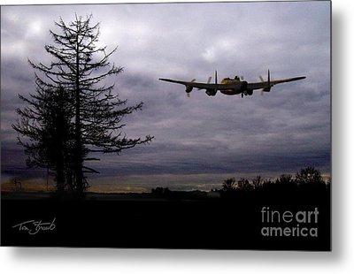 Lancaster Flight  Metal Print by Tom Straub