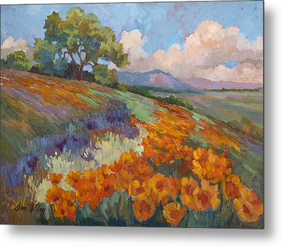 Land Of Sunshine Metal Print by Diane McClary