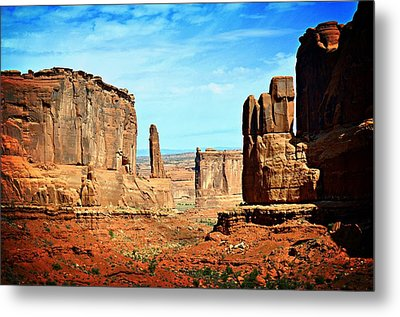 Land Of The Giants Metal Print by Marty Koch