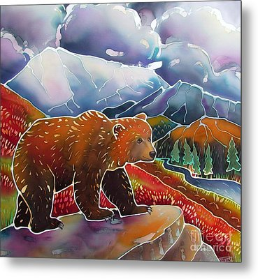 Land Of The Great Bear Metal Print by Harriet Peck Taylor