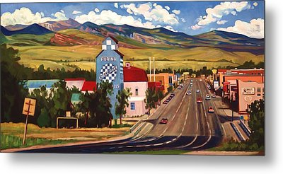 Lander 2000 Metal Print by Art James West