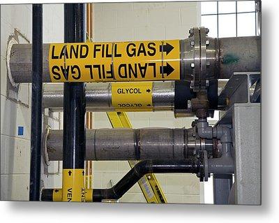 Landfill Gas Generating Electricity Metal Print