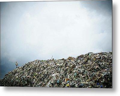 Landfill Metal Print