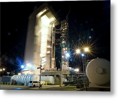 Landsat Data Continuity Mission Launch Metal Print by Nasa/bill Ingalls