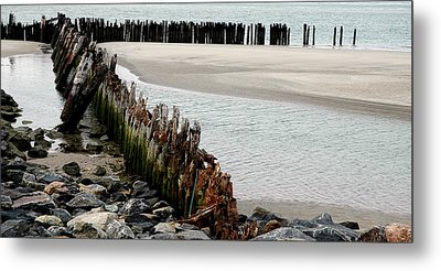 Landscape At Ocean Metal Print