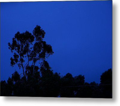 Metal Print featuring the photograph Blue Landscape by Mark Blauhoefer