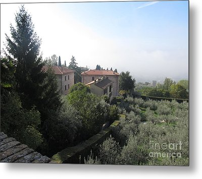 landscape of Assisi Italy Metal Print