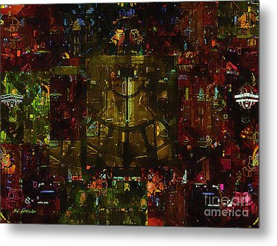 Landscape Of Hell Metal Print by RC deWinter