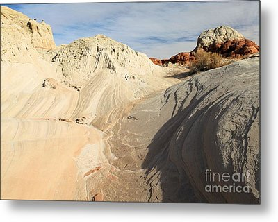Landscape Swirls Metal Print by Adam Jewell