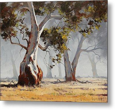 Landscape Trees Metal Print