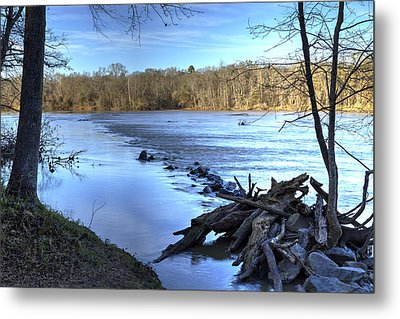Landsford Canal-1 Metal Print by Charles Hite