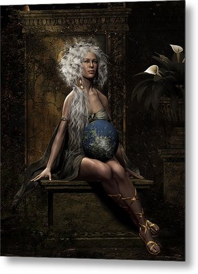Lap Of The Gods Metal Print by Shanina Conway