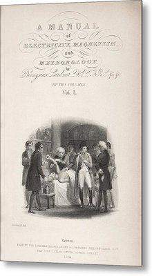Lardner's Manual (1841) Metal Print