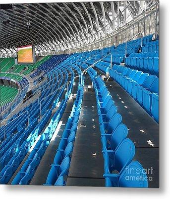 Large Modern Sports Facility Metal Print by Yali Shi