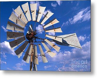 Large Windmill Metal Print