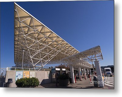 Larkspur Ferry Terminal Dsc1679 Metal Print by Wingsdomain Art and Photography