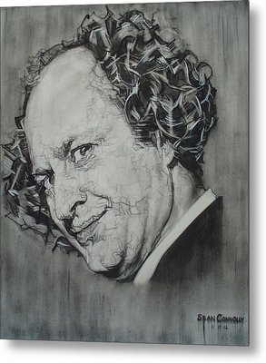 Larry Fine Of The Three Stooges - Where's Your Dignity? Metal Print