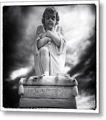 Larry Metal Print by John Rizzuto
